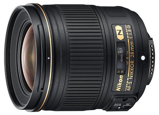 В каталоге Nikon есть похожая модель AF-S Nikkor 28mm f/1.8G