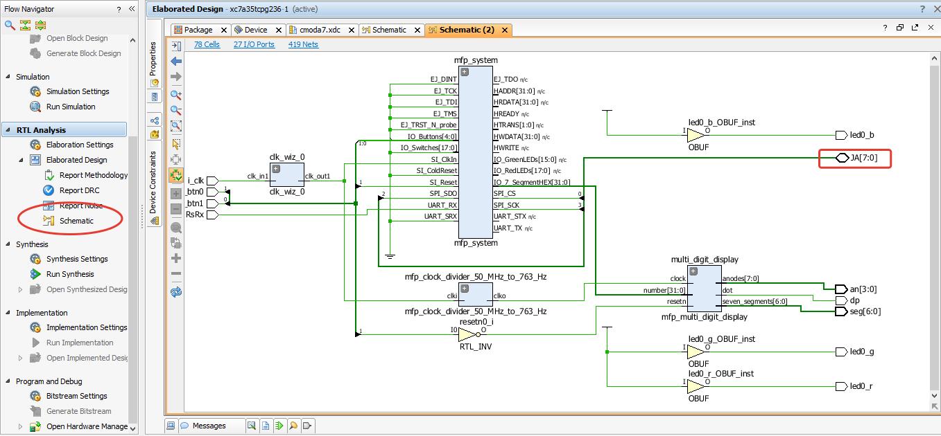 Портирование MIPSfpga на другие платы и интеграция периферии в систему. Часть 1 - 39