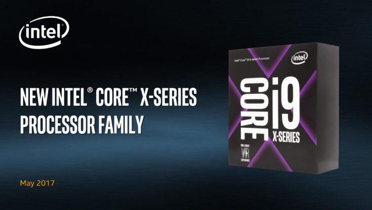 Новую линейку возглавила 18-ядерная модель Core i9-7980XE