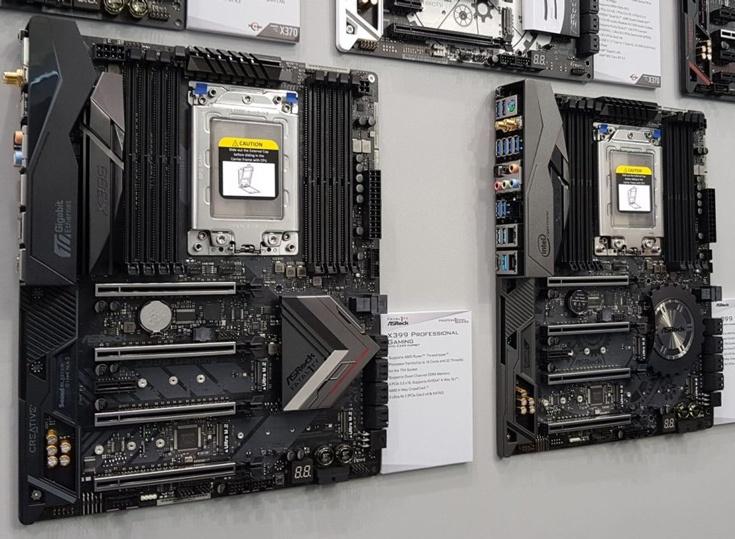 К общим чертам плат можно отнести наличие восьми слотов для модулей памяти DDR4 DIMM общим объемом до 128 ГБ