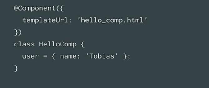 angular2 compiler component