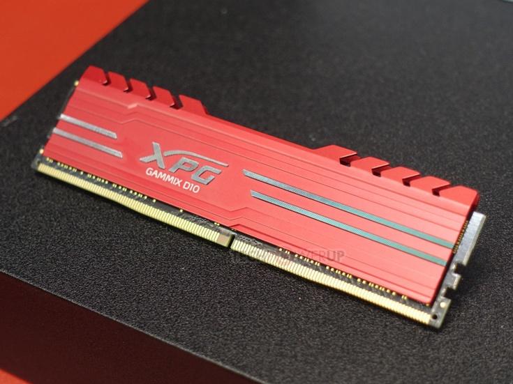 Модули памяти Adata Gammix D10 будут доступны объемом 4, 8, 16 и 32 ГБ