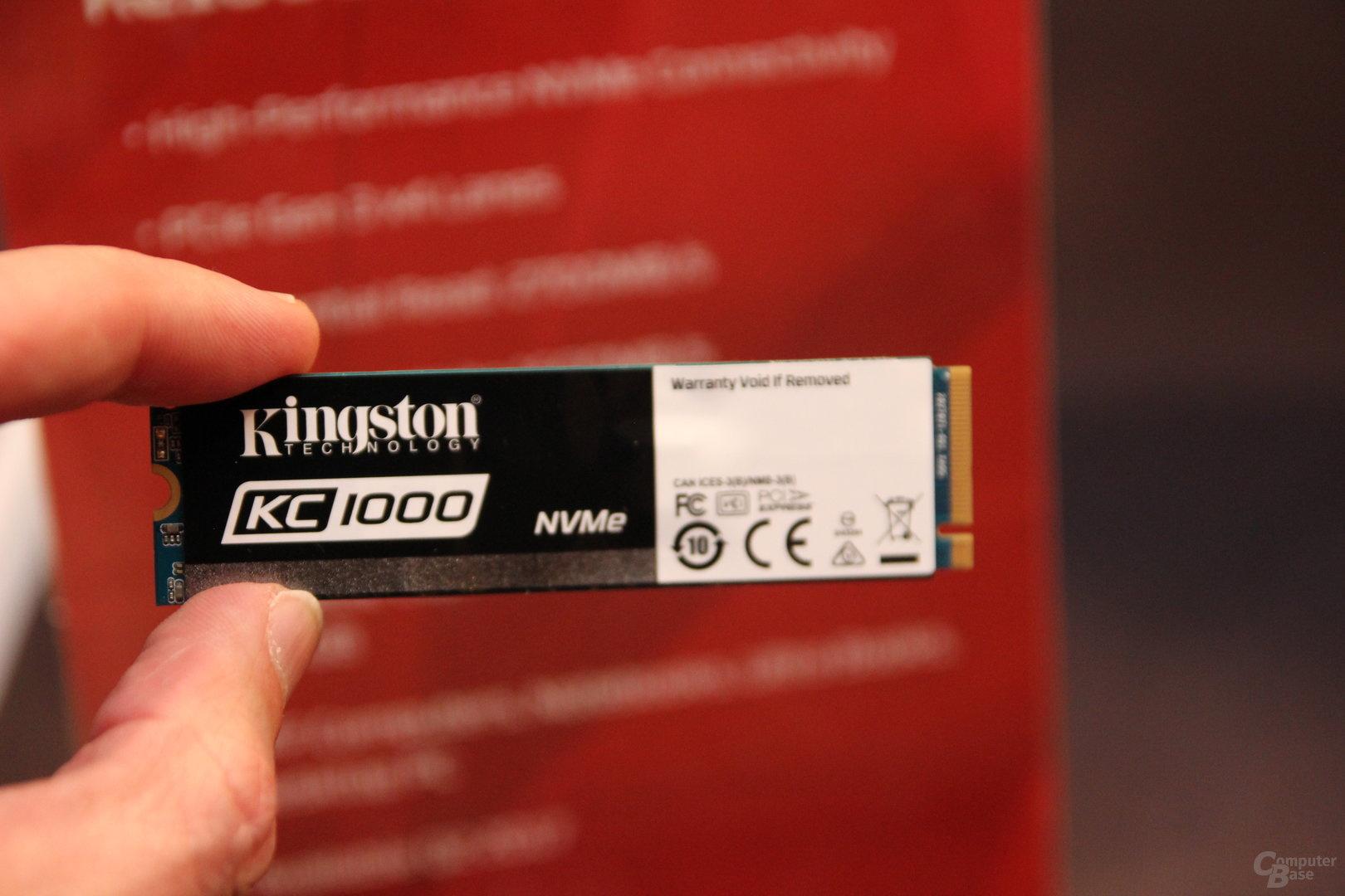 Кому SSD со скоростью чтения 2,7 Гбайт-с? Встречайте флагманский Kingston KC1000 - 3