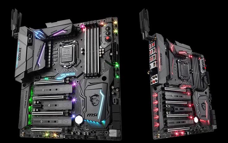 Оснащение платы MSI Z270 Godlike Gaming включает высококачественную звуковую подсистему Audio Boost 4 Xtreme