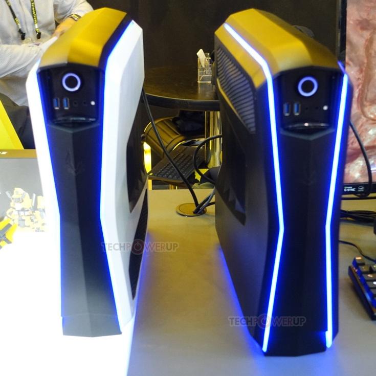 В конфигурацию игрового мини-ПК Zotac Mek входит 3D-карта Nvidia GeForce GTX 1080