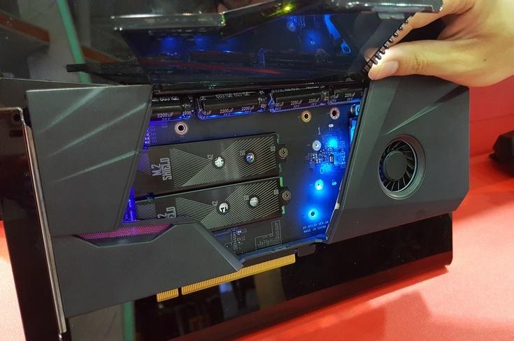 MSI предлагает соединять SSD формата M.2 в быстрый массив RAID