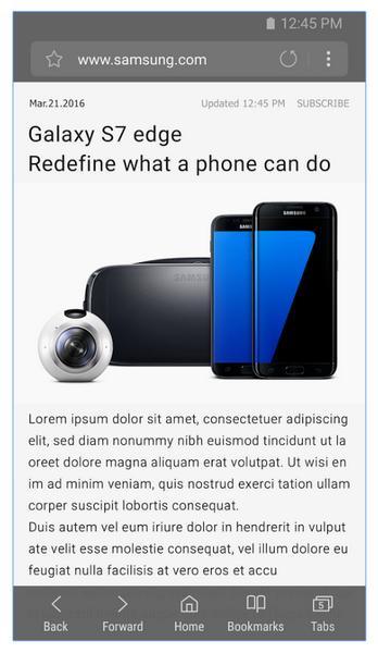 Samsung сделала доступным ПО Samsung Internet Browser для сторонних смартфонов