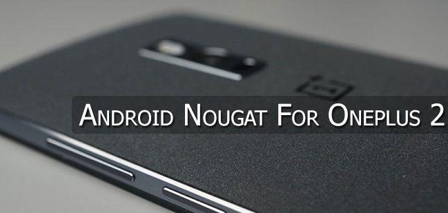 Смартфон OnePlus 2 не получит обновление до Android 7.0 Nougat