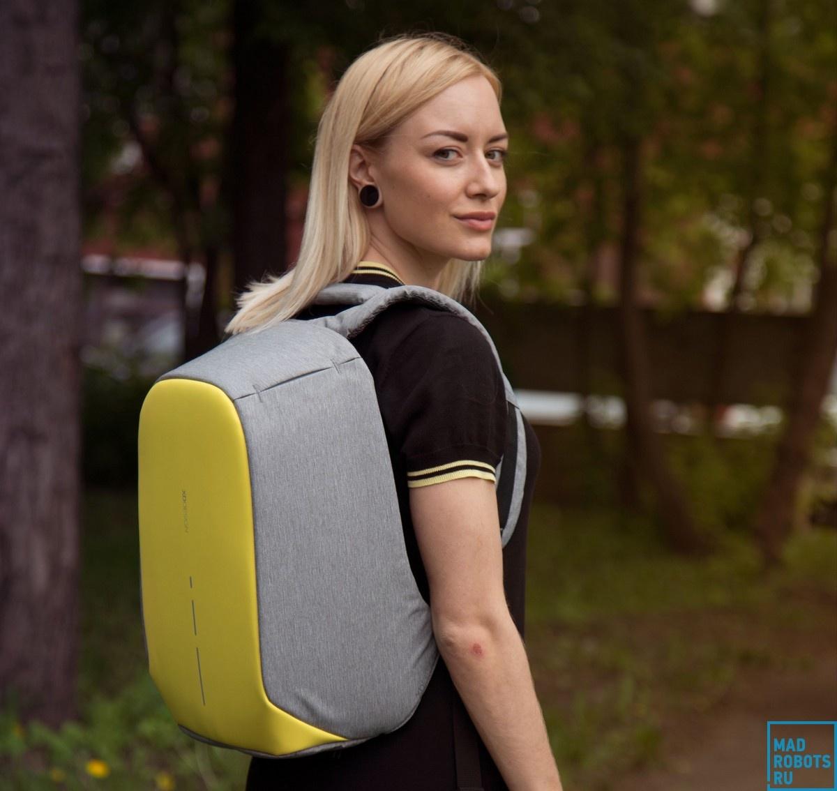 Bobby Compact — новое поколение «противоугонного» рюкзака - 1