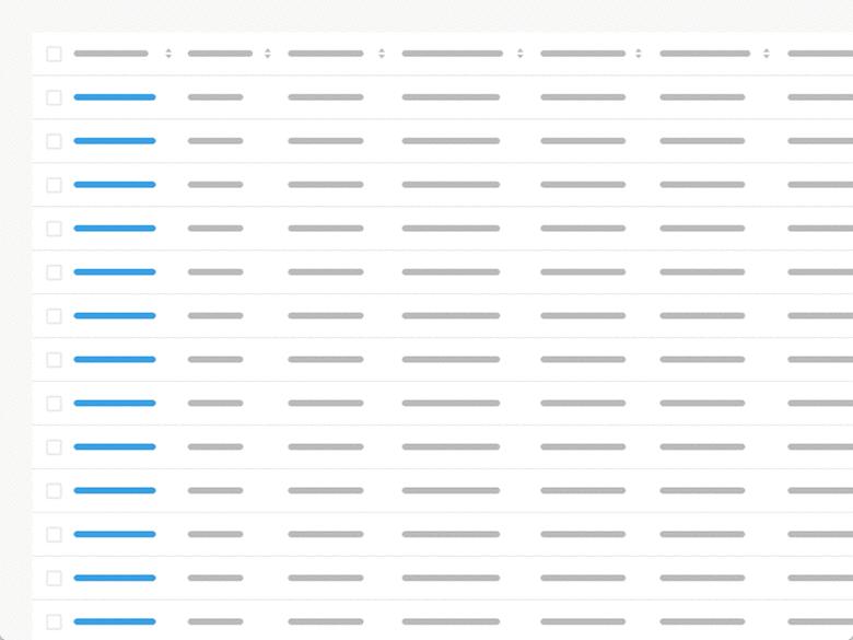 Design Better Data Tables