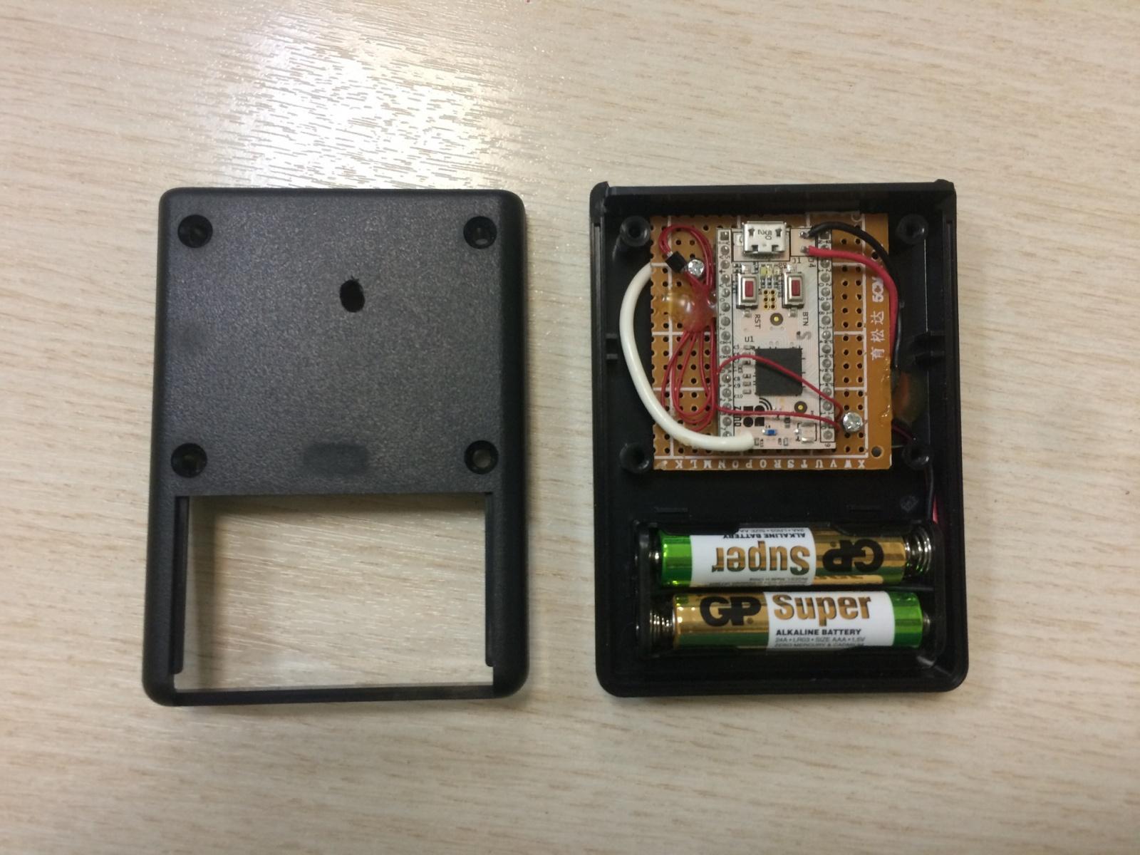 Еще один беспроводной датчик температуры и влажности. Z-Wave плата Z-Uno + Sensirion SHT20 - 1