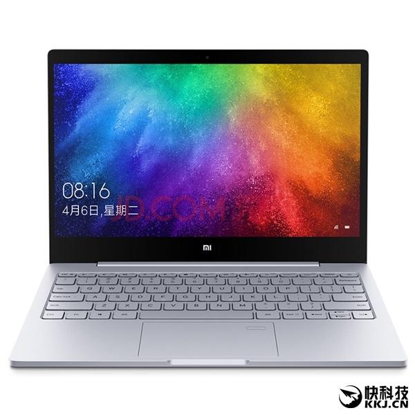 Новая версия ноутбука Xiaomi Mi Notebook Air получила другую начинку и дактилоскопический датчик