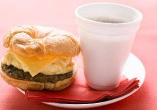 Кофе нельзя смешивать с жирной пищей