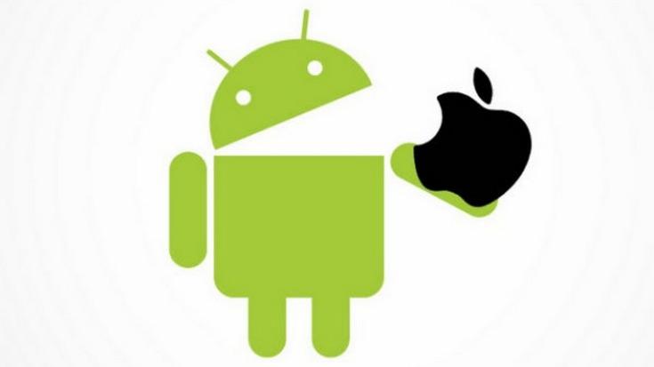 Kantar оценили доли Android и iOS на разных рынках