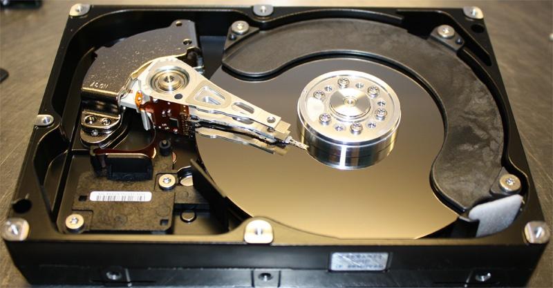 Неглубокое погружение или восстановление данных с жесткого диска после затопления офиса - 4