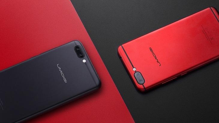 Смартфоны Umidigi Z1 Pro и Umidigi Z1 различаются главным образом экранами