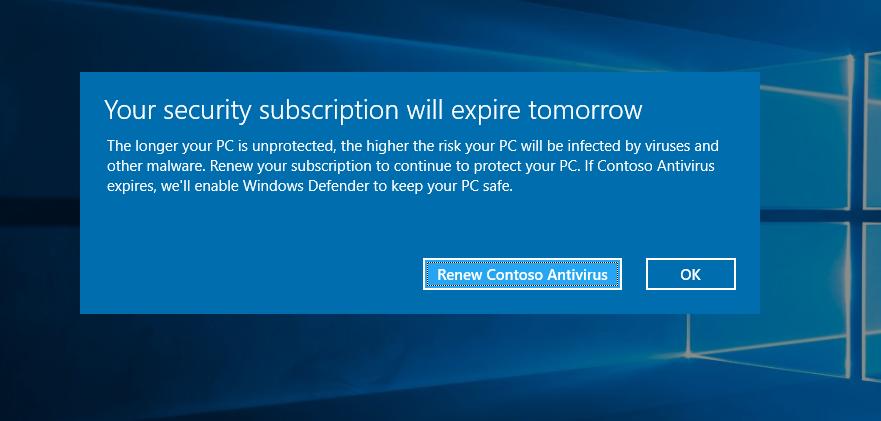 Microsoft признала, что иногда отключает части сторонних антивирусов - 1