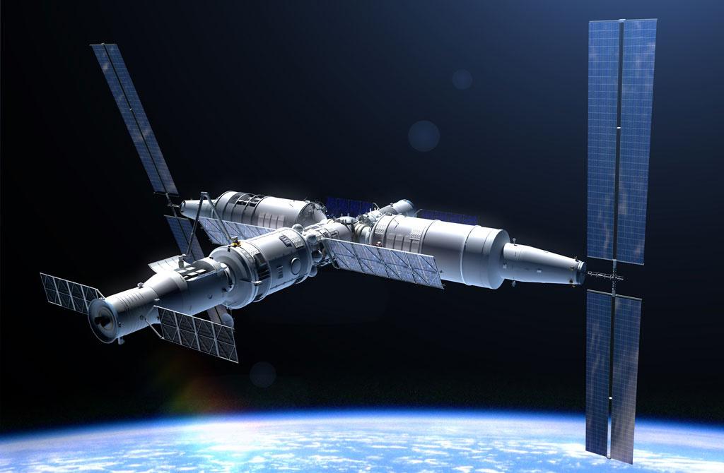 Космические станции следующего десятилетия: Китай - 1