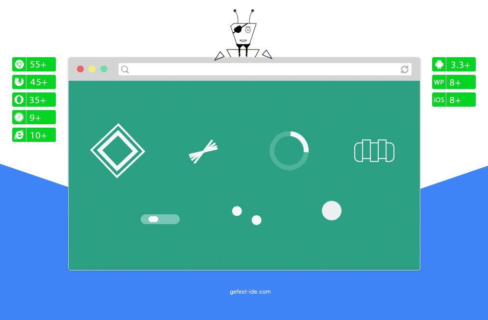 Сборник preloader на css - CSS Loading Spinners