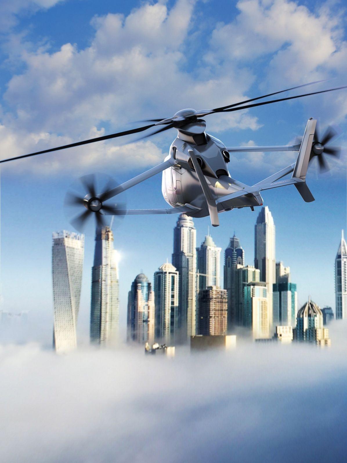 Airbus Racer — вертолет, сочетающий в себе достоинства вертолета и самолета - 1