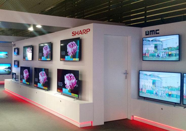 Sharp сможет использовать панели OLED в своих телевизорах