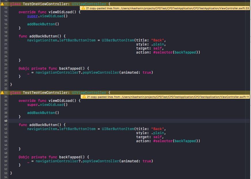 Интегрируем Copy-Paste-Detector для Swift в Xcode - 3
