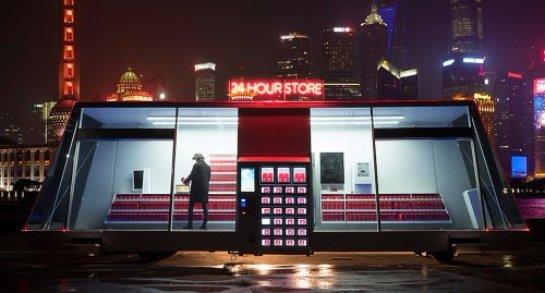 Создан Moby Mart – автоматический магазин на колесах