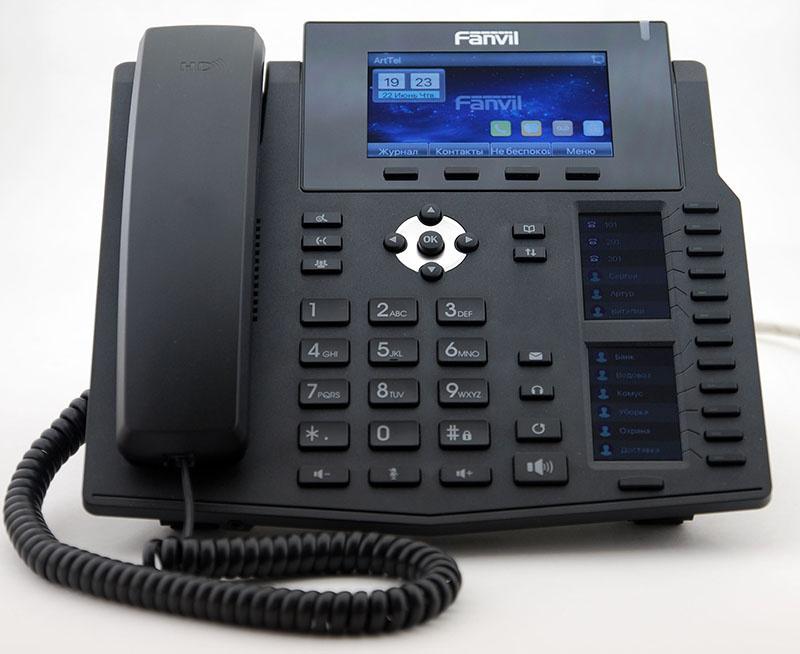 Новый IP-телефон Fanvil X6 - 2