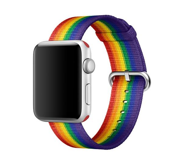 Apple начала продажи ремешков с символикой ЛГБТ