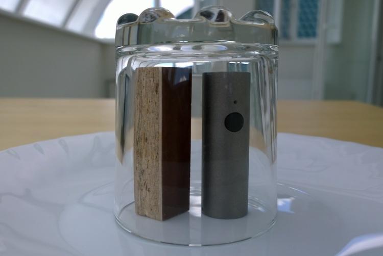 Мелисса и ДСП в газовой камере с Atmotube - 1