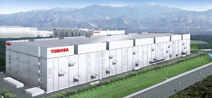 Toshiba планирует инвестировать 1,6 млрд долларов в фабрику Fab 6