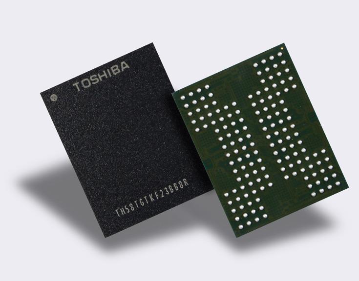 В прототипе с объемной компоновкой насчитывается 64 слоя ячеек QLC NAND