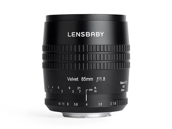 Объектив Lensbaby Velvet 85 фокусируется вручную