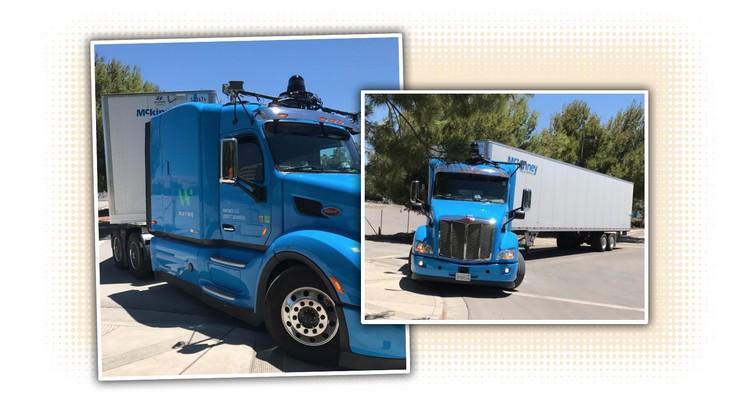 Waymo тестирует беспилотный грузовик на основе Peterbilt 579