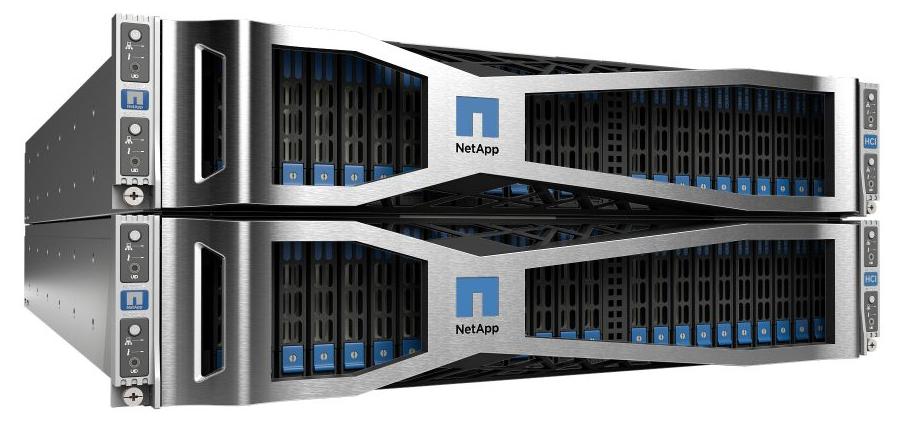 NetApp HCI ─ гиперконвергентная система нового поколения для работы с данными - 1