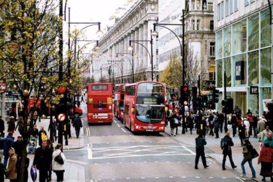 В Лондоне появиться «умная» улица