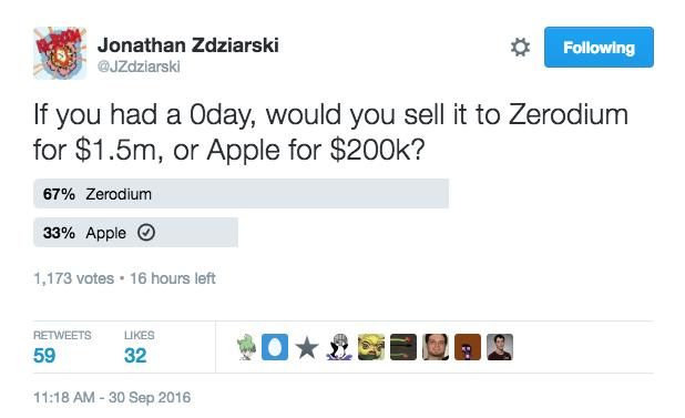 Никто не хочет сообщать Apple об уязвимостях iPhone - 1