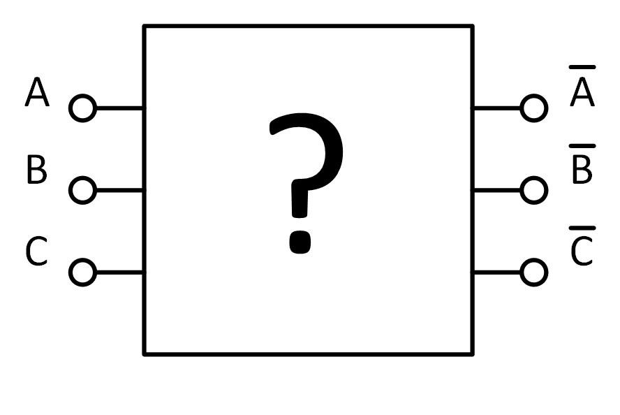Как проинвертировать три сигнала двумя инверторами или их роль в истории ЭВМ - 1