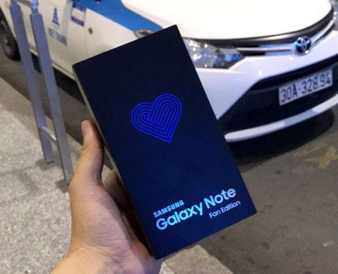 Некоторые модификации Galaxy Note FE уже распроданы в Южной Корее