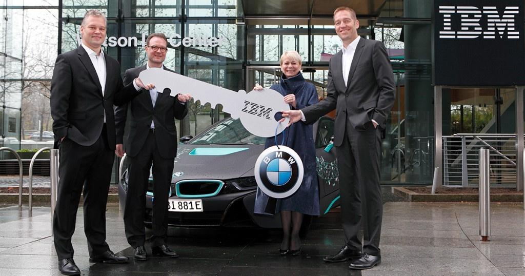 IBM и BMW — автомобили смогут работать с информацией в режиме реального времени - 1
