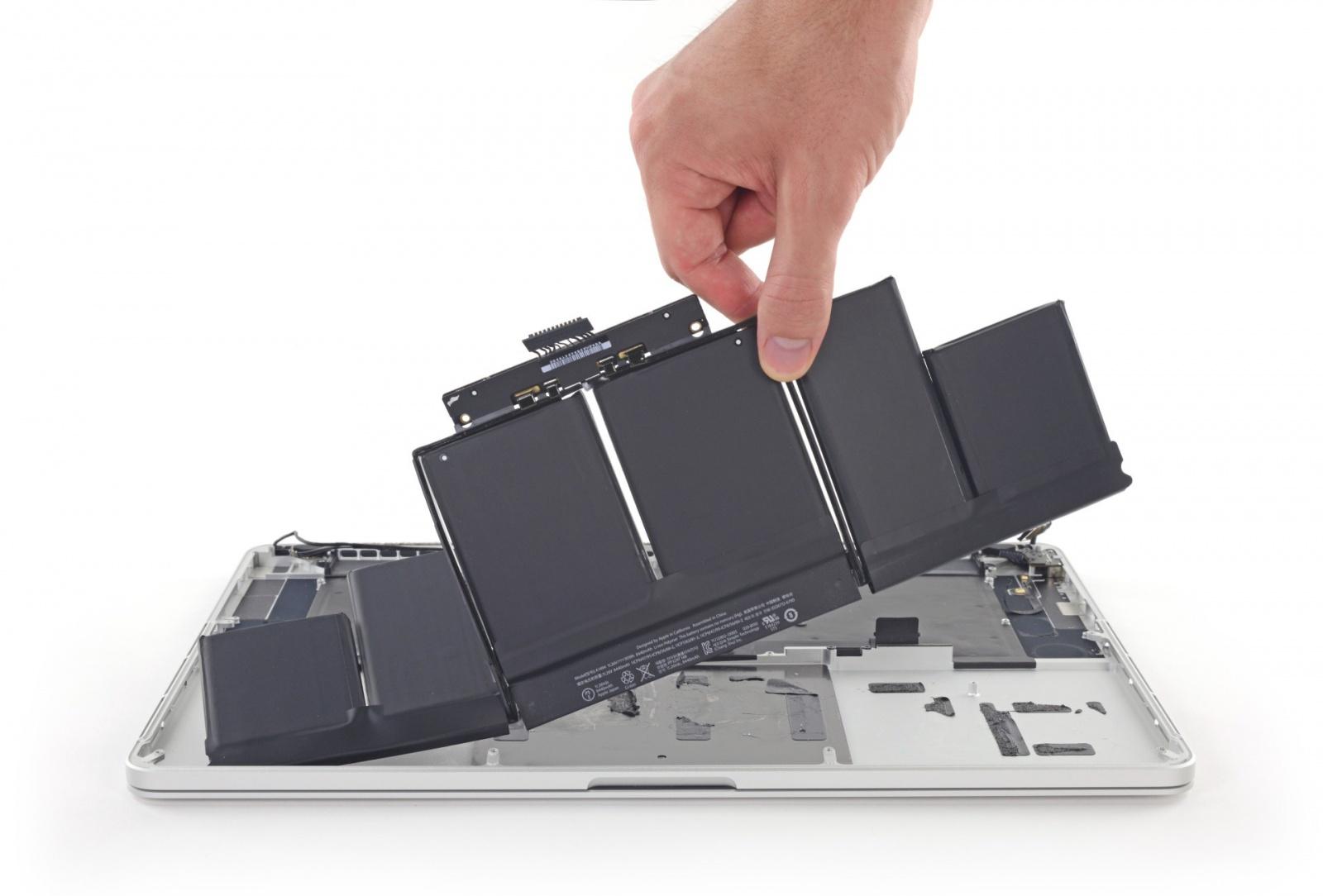 Найден растворитель для клея, которым приклеиваются батареи MacBook Pro - 1