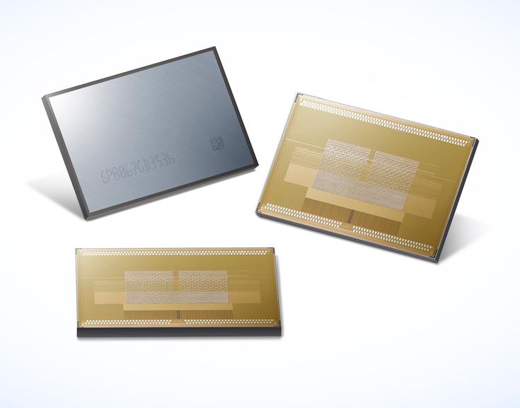 Пропускная способность микросхем HBM2 объемом 8 ГБ производства Samsung равна 256 ГБ/с
