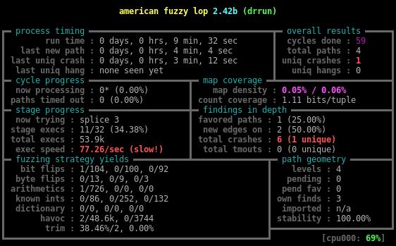 Динамическая инструментация — не просто, а тривиально*: пишем yet another инструментацию для American Fuzzy Lop - 1