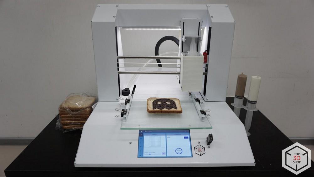 Живой обзор пищевого 3D-принтера Chocola3D - 23