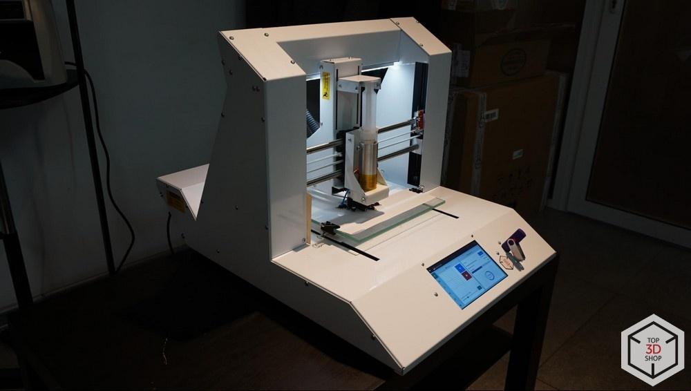 Живой обзор пищевого 3D-принтера Chocola3D - 3