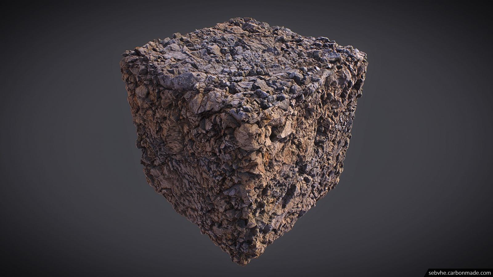 Создание камней для игр с помощью фотограмметрии - 12