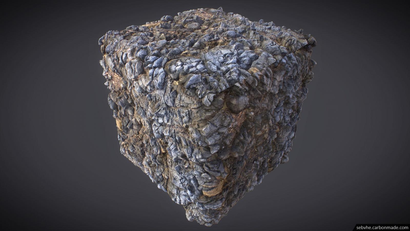 Создание камней для игр с помощью фотограмметрии - 17