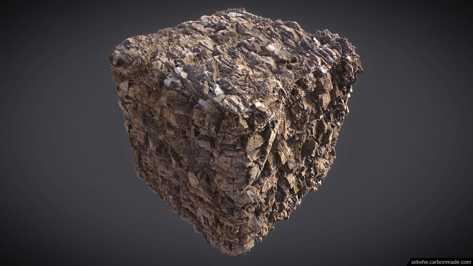 Создание камней для игр с помощью фотограмметрии - 18
