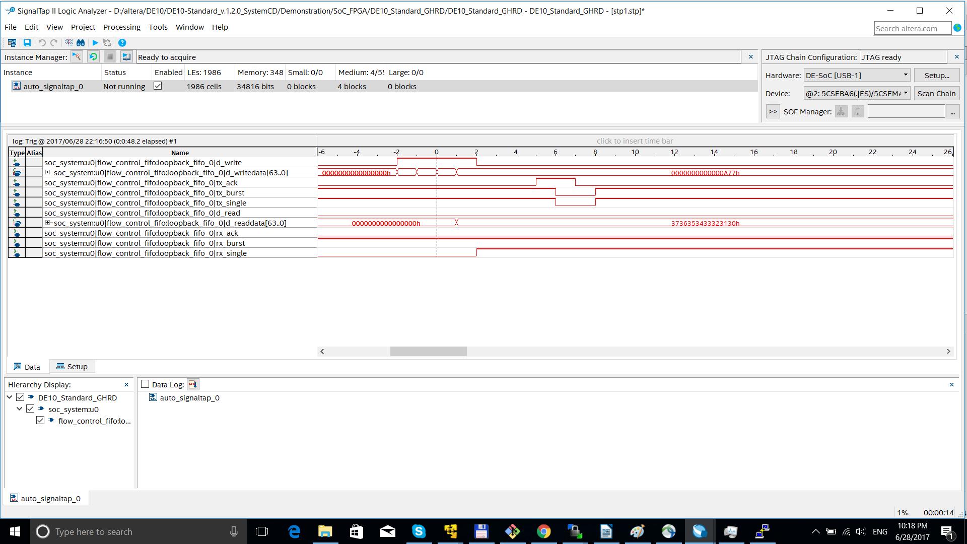 Опыт использования FPGA платы DE10-Standard и DMA PL330 - 5