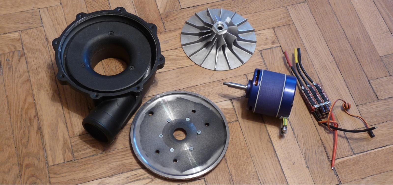 Автомобильная электротурбина - 1